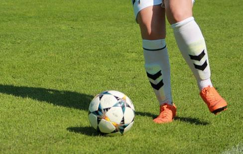 All hollandsk fotboll installd
