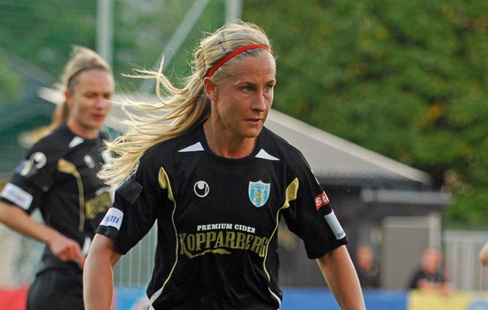 Jenny Hallstenson numera i Kopparbergs Göteborg. FOTO  Fredrik Hasselgren. dc38153990f6a